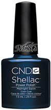 "CND Shellac ""Midnight Swim"": Гель-лак, 7мл"