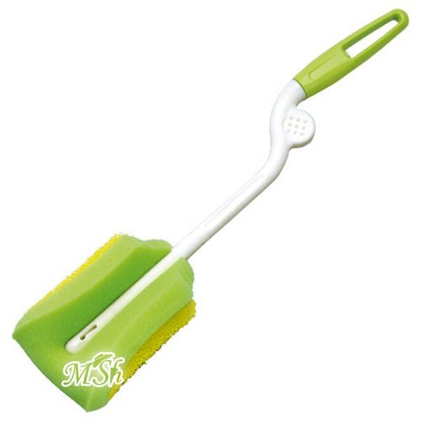 Щетка для мытья посуды с губкой